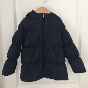 Ralph Lauren Girls Size 3 Navy Down Jacket